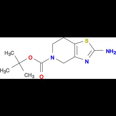 tert-Butyl 2-amino-6,7-dihydrothiazolo[4,5-c]pyridine-5(4H)-carboxylate