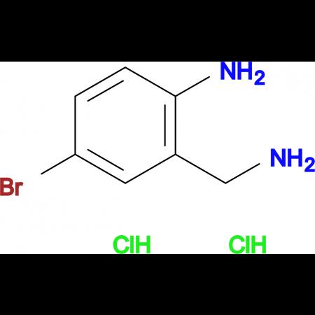 2-(Aminomethyl)-4-bromoaniline dihydrochloride