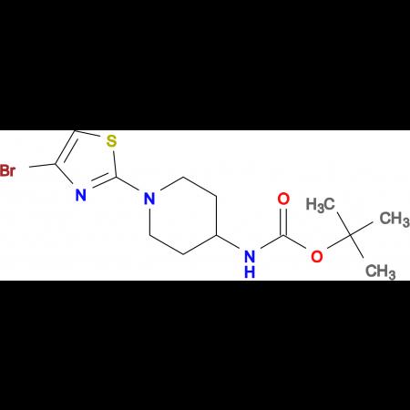 tert-Butyl (1-(4-bromothiazol-2-yl)piperidin-4-yl)carbamate
