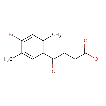 4-(4-Bromo-2,5-dimethylphenyl)-4-oxobutanoic acid