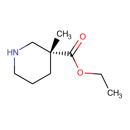 (R)-Ethyl 3-methylpiperidine-3-carboxylate