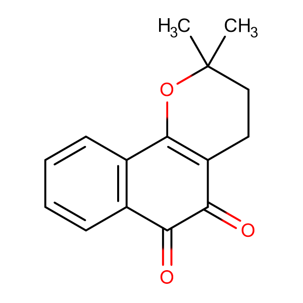 2,2-Dimethyl-3,4-dihydro-2H-benzo[h]chromene-5,6-dione