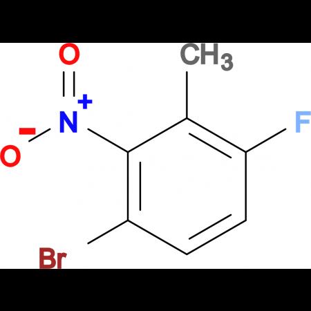 1-Bromo-4-fluoro-3-methyl-2-nitrobenzene