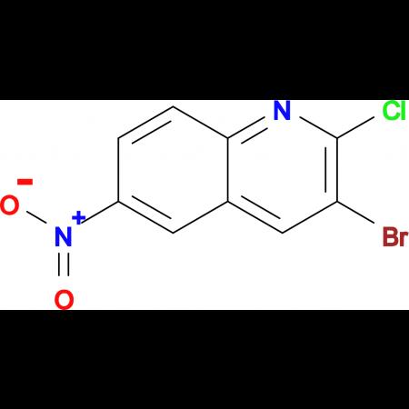 3-Bromo-2-chloro-6-nitroquinoline