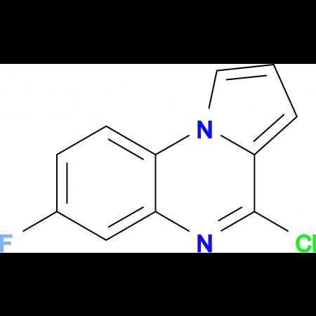 4-Chloro-7-fluoropyrrolo[1,2-a]quinoxaline
