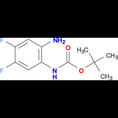 tert-Butyl (2-amino-4,5-difluorophenyl)carbamate