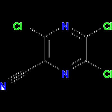 3,5,6-Trichloropyrazine-2-carbonitrile