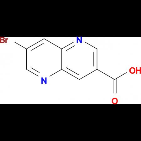 7-Bromo-1,5-naphthyridine-3-carboxylic acid