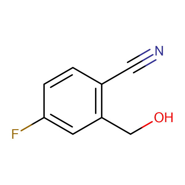 4-Fluoro-2-(hydroxymethyl)benzonitrile
