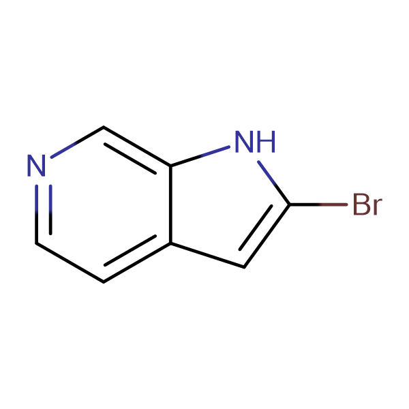 2-Bromo-1H-pyrrolo[2,3-c]pyridine