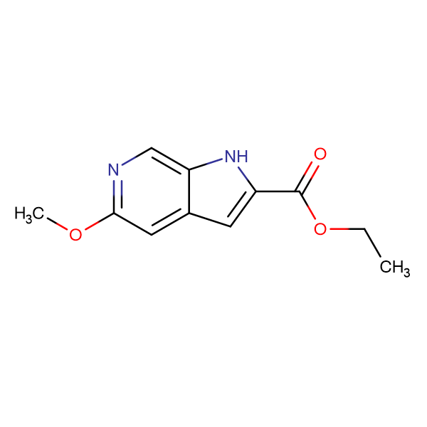 Ethyl 5-methoxy-1H-pyrrolo[2,3-c]pyridine-2-carboxylate