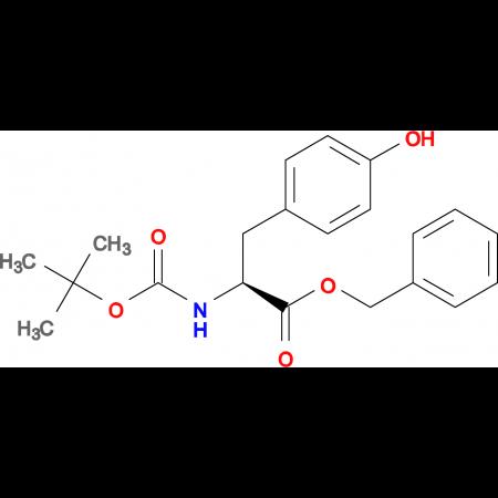(S)-Benzyl 2-((tert-butoxycarbonyl)amino)-3-(4-hydroxyphenyl)propanoate