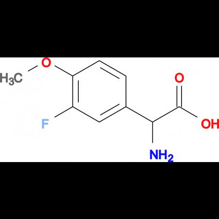 2-Amino-2-(3-fluoro-4-methoxyphenyl)acetic acid