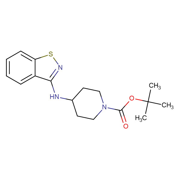 tert-Butyl 4-(benzo[d]isothiazol-3-ylamino)piperidine-1-carboxylate