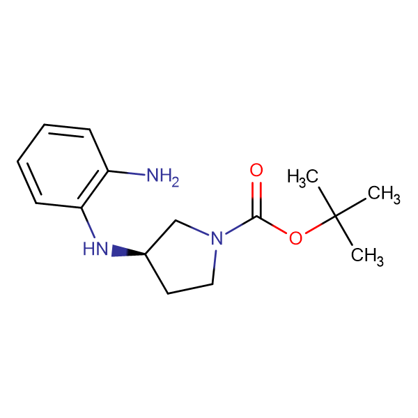 (R)-tert-Butyl 3-((2-aminophenyl)amino)pyrrolidine-1-carboxylate