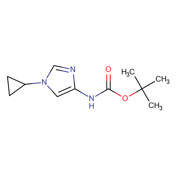 tert-Butyl (1-cyclopropyl-1H-imidazol-4-yl)carbamate
