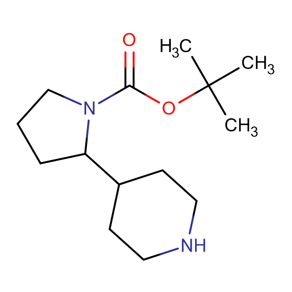 tert-Butyl 2-(piperidin-4-yl)pyrrolidine-1-carboxylate