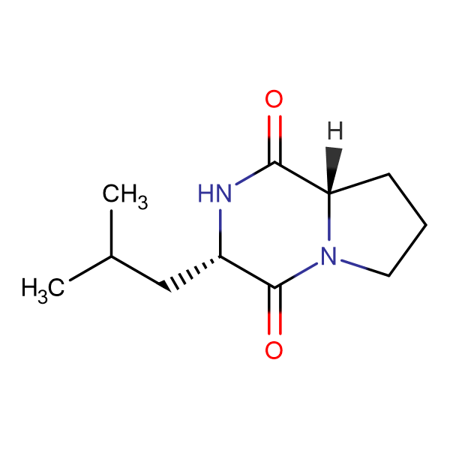 (3S,8aS)-3-Isobutylhexahydropyrrolo[1,2-a]pyrazine-1,4-dione
