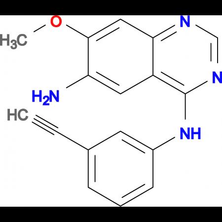 N4-(3-Ethynylphenyl)-7-methoxyquinazoline-4,6-diamine