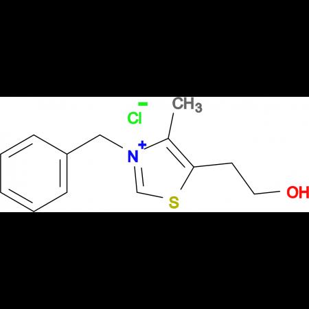 3-Benzyl-5-(2-hydroxyethyl)-4-methylthiazol-3-ium chloride