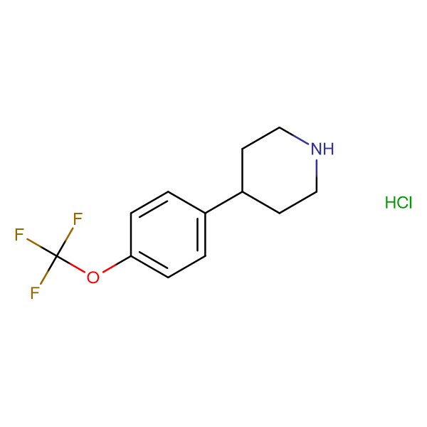 4-(4-(Trifluoromethoxy)phenyl)piperidine hydrochloride