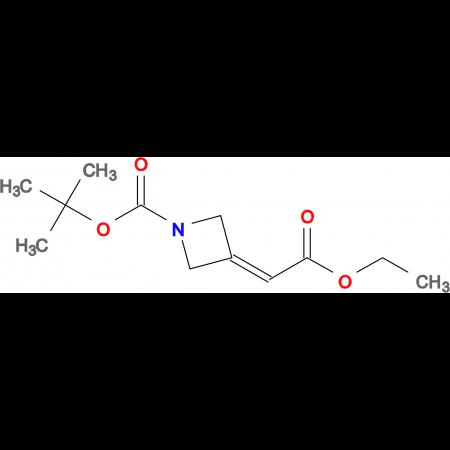 tert-Butyl 3-(2-ethoxy-2-oxoethylidene)azetidine-1-carboxylate