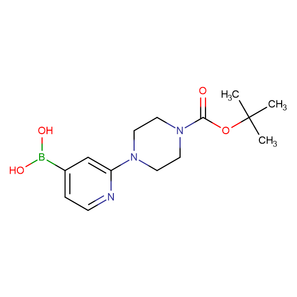 (2-(4-(tert-Butoxycarbonyl)piperazin-1-yl)pyridin-4-yl)boronic acid