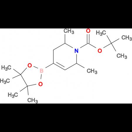 tert-Butyl 2,6-dimethyl-4-(4,4,5,5-tetramethyl-1,3,2-dioxaborolan-2-yl)-5,6-dihydropyridine-1(2H)-carboxylate