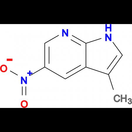 3-METHYL-5-NITRO-7-AZAINDOLE