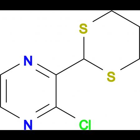 2-CHLORO-3-(1,3-DITHIAN-2-YL)PYRAZINE