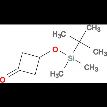 3-[[(1,1-DIMETHYLETHYL)DIMETHYLSILYL]OXY]CYCLOBUTANONE