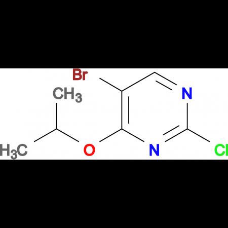 5-BROMO-2-CHLORO-4-(PROPAN-2-YLOXY)PYRIMIDINE