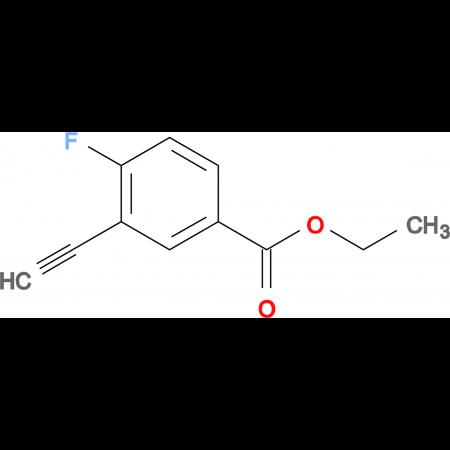 ETHYL 3-ETHYNYL-4-FLUOROBENZOATE