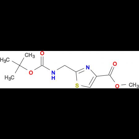 2-(TERT-BUTOXYCARBONYLAMINO-METHYL)-THIAZOLE-4-CARBOXYLIC ACID METHYL ESTER