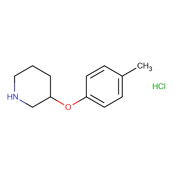 3-(P-TOLYLOXY)PIPERIDINE HCL