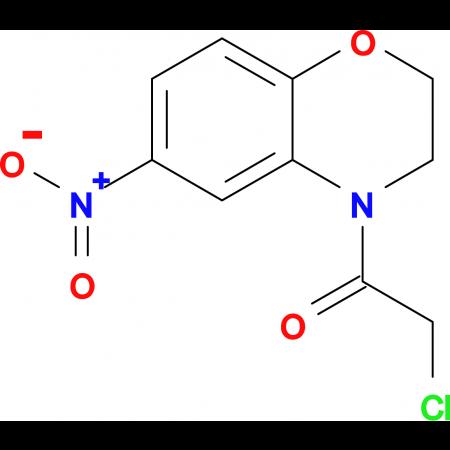 2-CHLORO-1-(6-NITRO-2H-BENZO[B][1,4]OXAZIN-4(3H)-YL)ETHANONE