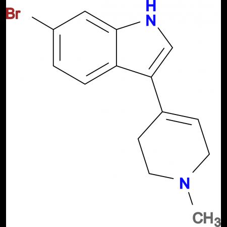 6-BROMO-3-(1-METHYL-1,2,3,6-TETRAHYDRO-4-PYRIDINYL)-1H-INDOLE