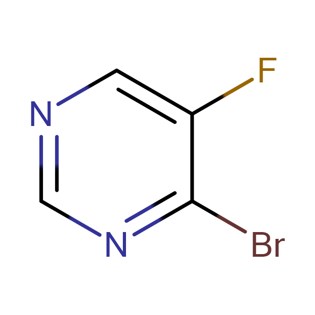 4-BROMO-5-FLUOROPYRIMIDINE