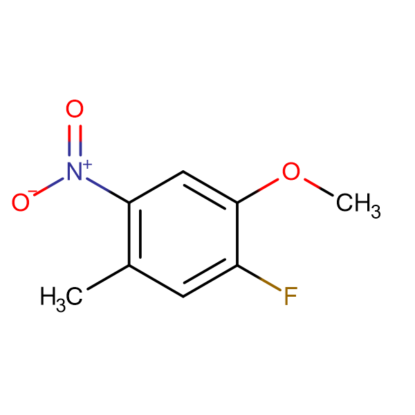 1-FLUORO-2-METHOXY-5-METHYL-4-NITROBENZENE