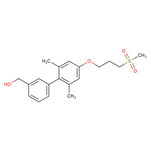 (2',6'-DIMETHYL-4'-(3-(METHYLSULFONYL)PROPOXY)-[1,1'-BIPHENYL]-3-YL)METHANOL