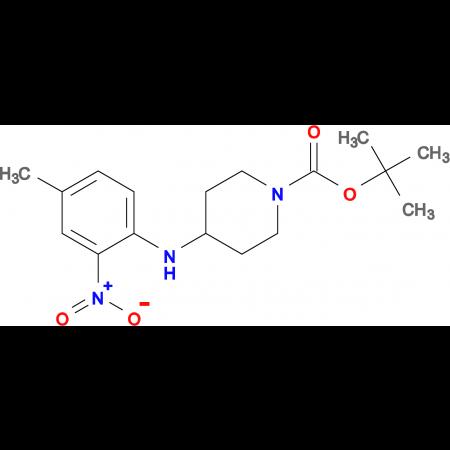 TERT-BUTYL 4-(4-METHYL-2-NITROPHENYLAMINO)PIPERIDINE-1-CARBOXYLATE