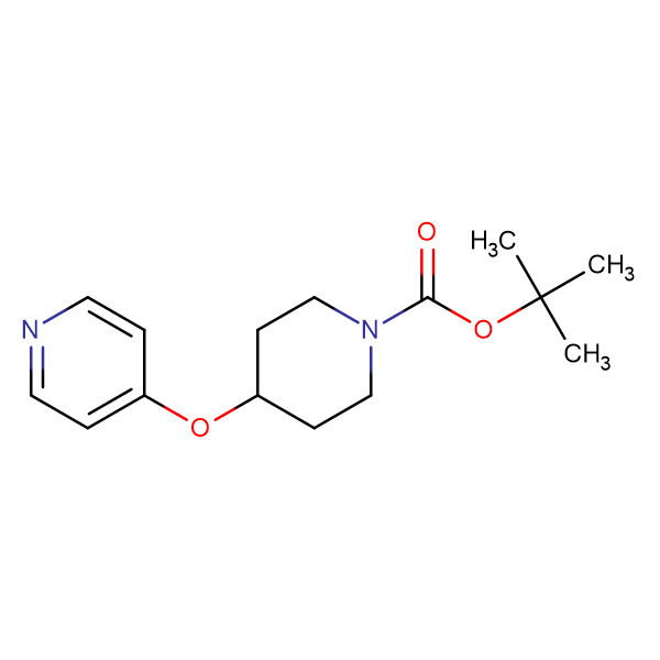 TERT-BUTYL 4-(PYRIDIN-4-YLOXY)PIPERIDINE-1-CARBOXYLATE