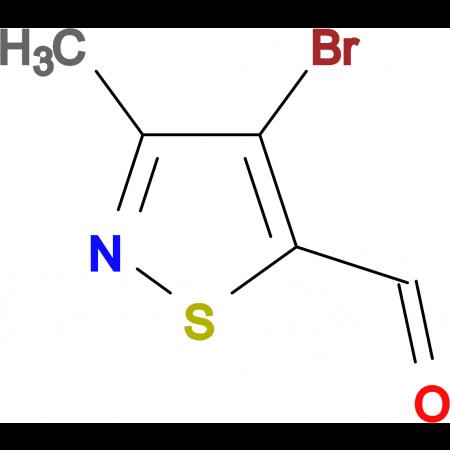 4-Bromo-3-methyl-isothiazole-5-carbaldehyde