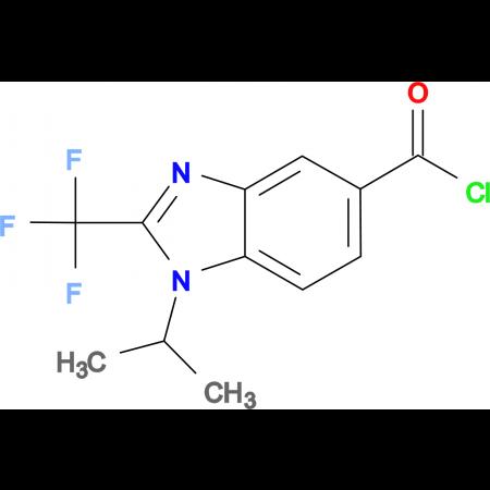 1-Isopropyl-2-trifluoromethyl-1H-benzoimidazole-5-carbonyl chloride
