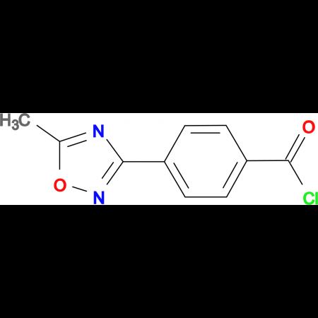 4-(5-Methyl-[1,2,4]oxadiazol-3-yl)-benzoyl chloride