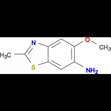 5-Methoxy-2-methyl-benzothiazol-6-ylamine