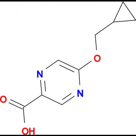 5-(Cyclopropylmethoxy)pyrazine-2-carboxylic acid