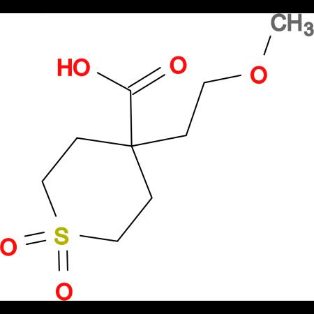 4-(2-Methoxyethyl)-1,1-dioxo-1Lambda(6)-thiane-4-carboxylic acid