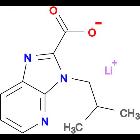 Lithium 3-isobutyl-3H-imidazo[4,5-b]pyridine-2-carboxylate