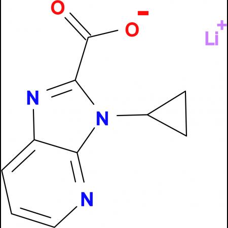 Lithium 3-cyclopropyl-3H-imidazo[4,5-b]pyridine-2-carboxylate